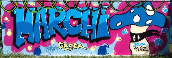 Graffiti - Sommercamp Club Marchwitza